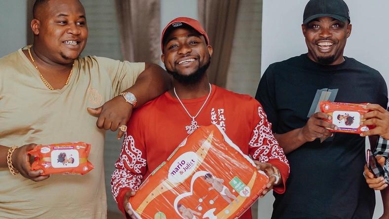 Davido's unborn son lands endorsement deal