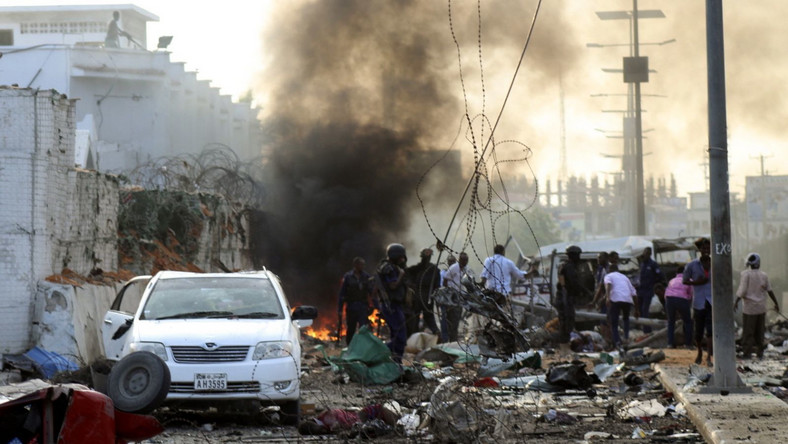 Zamachy bombowe w Mogadiszu