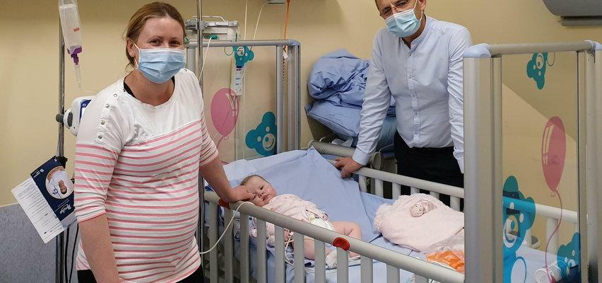 Olivia urodziła się ze zrośniętym gardłem. Niezwykła operacja!