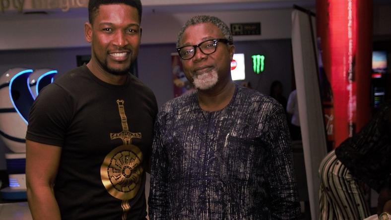 Wole Ojo and Mahmood Ali-Balogun at AFRIFF 2018