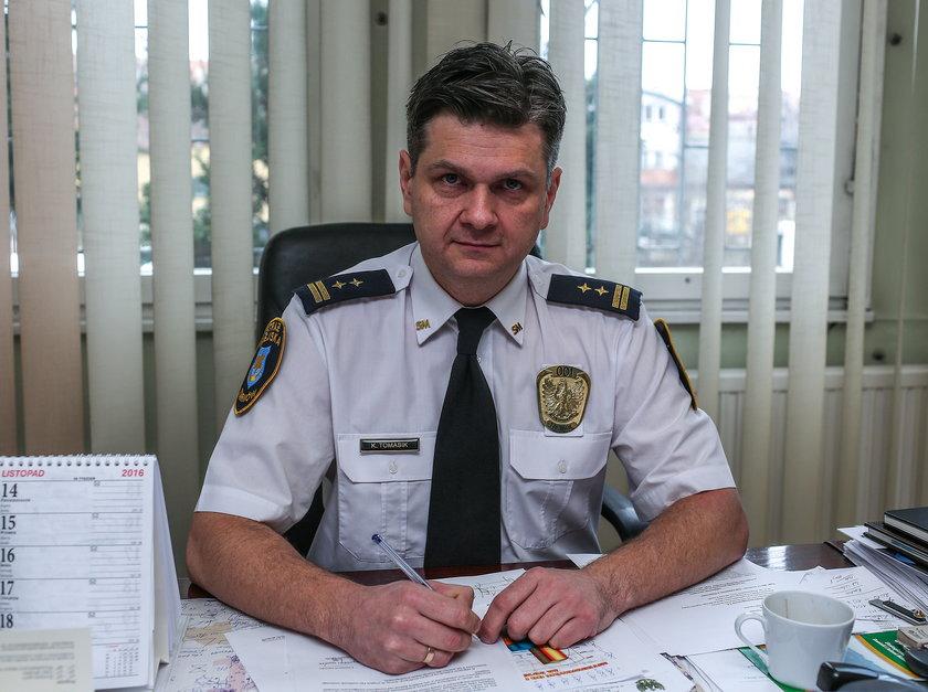 Rzecznik tarnowskich strażników
