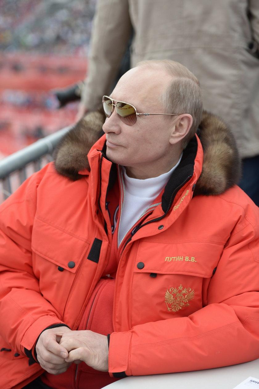 Podczas nieformalnych wystąpień Putin uwielbia wkładać futra