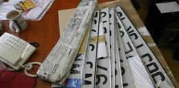 Fałszywe tablice rejestracyjne to nie przestępstwo
