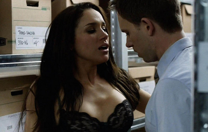Megan Markl u seriji Suits