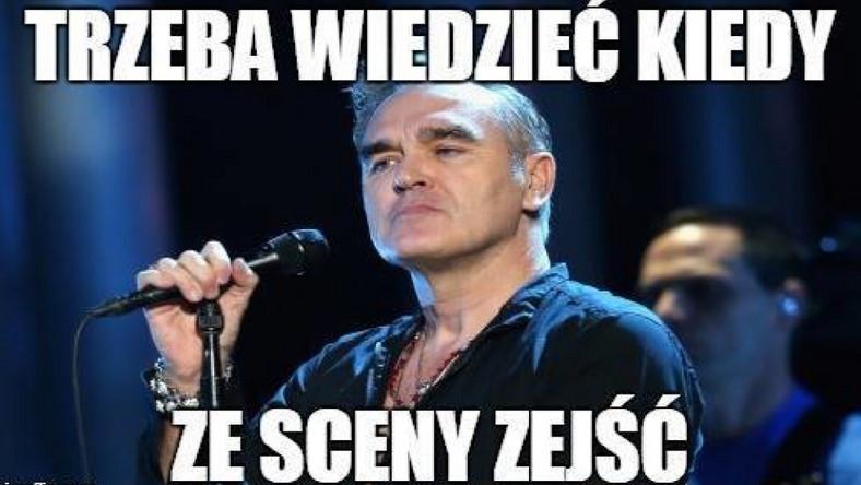 Pół godziny po rozpoczęciu występu w warszawskim klubie Stodoła, Morrissey przerwał go twierdząc, że ktoś z publiczności go obraził. – To nie było miłe – powiedział. Opuścił więc scenę, a chwilę później jego przedstawiciel oświadczył, że artysta nie czuł się bezpiecznie