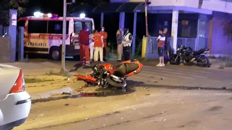 Niš, motociklista, saobraćajna nesreća