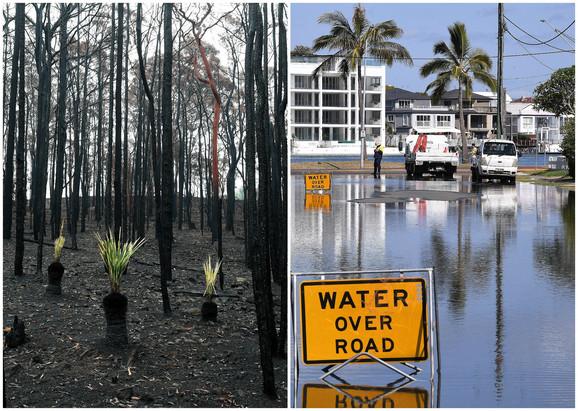 Poplave su pogodile delove zemlje koji su pretrpeli sušne mesece