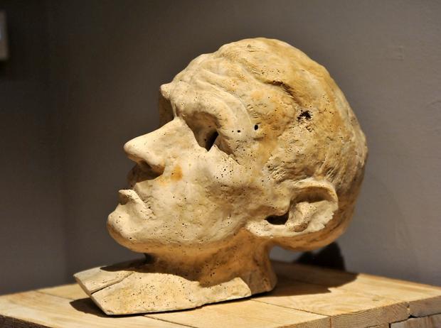 """""""Bruno Schulz"""", rzeźba Mirosława Bałki"""
