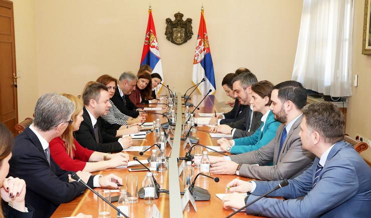 Predsednica Vlade Ana Brnabic i predstavnici SAMIT100