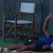 BENOA PER SE SAMO OBRUŠIO I POLIVAO VODOM Nešto što se gotovo nikad ne viđa na teniskom meču: Svi su gledali šta to Francuz RADI /VIDEO/