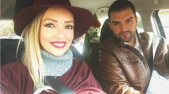 Jelena Gerbec sa mužem
