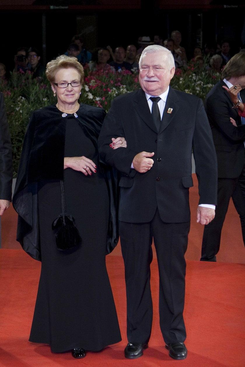 Danuta i Lech Wałęsowie