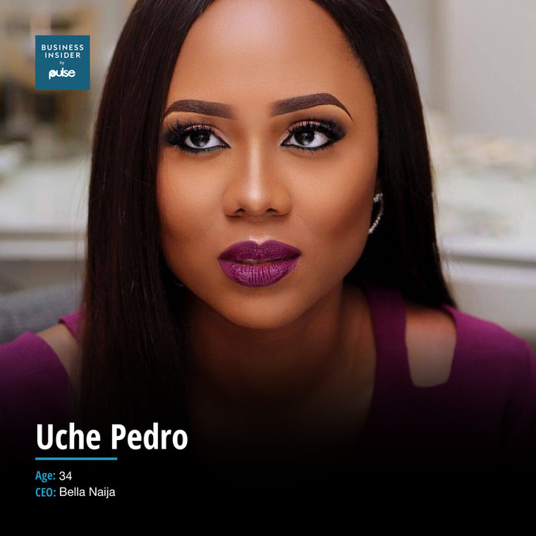 Uche Pedro is the founder and CEO of BellaNaija