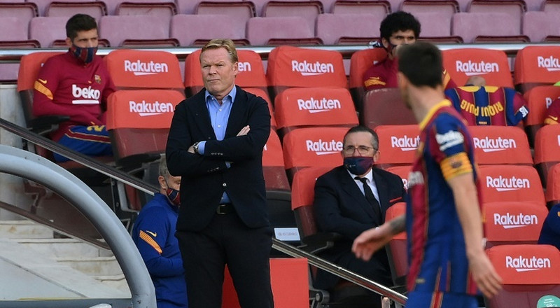 Blame game: Koeman and Barca's sense of injustice clouds Juve test