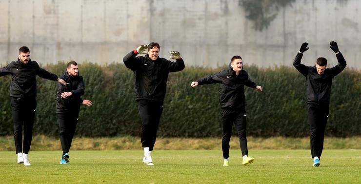 Pripreme FK Partizan