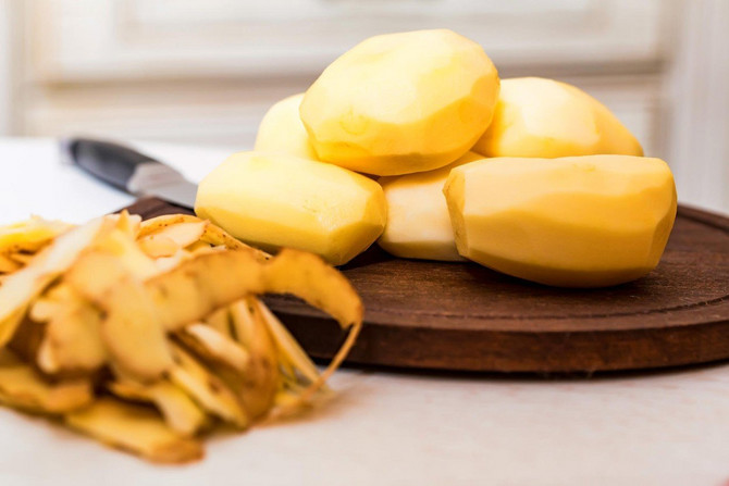 Napravite ukusan pire od krompirove ljuske