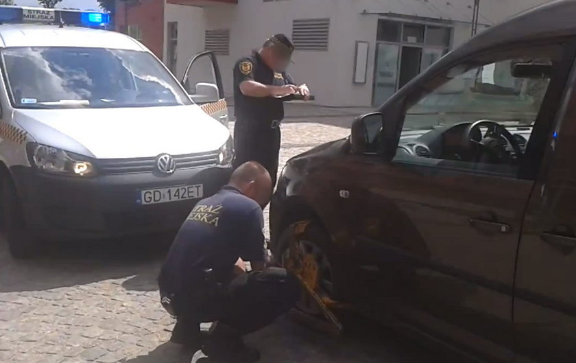 municypalni z Gdańska karali kierowców