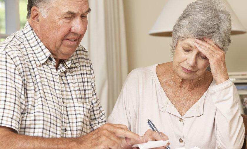 para seniorów nad rachunkami