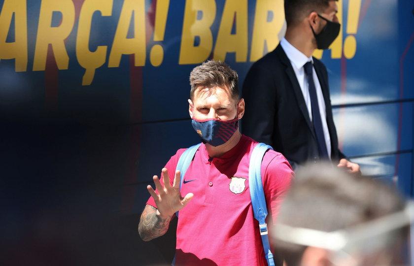 Leo Messi wygrał z koronawirusem