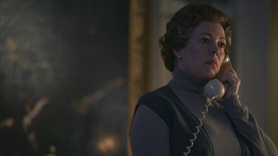 "Olivia Colman jako Elżbieta II w serialu ""The Crown"""