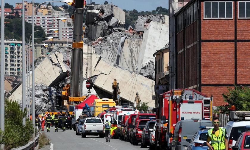 W katastrofie wiaduktu  zginęły 43 osoby