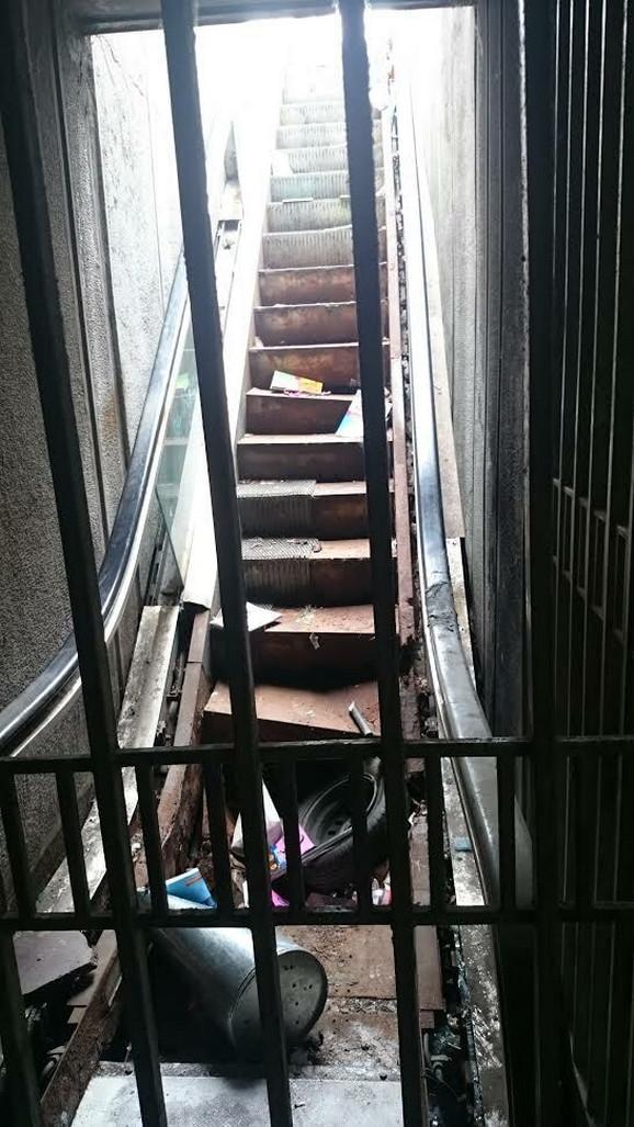 Druge stepenice...