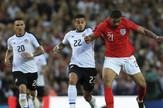 Fudbalska reprezentacija Engleske, fudbalska reprezentacija Kostarike