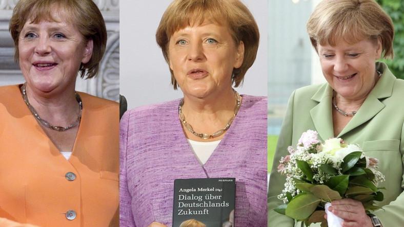 Z nadejściem lata pani kanclerz postanowiła ożywić swoją garderobę