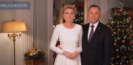 Świąteczne życzenia od prezydenckiej pary FILM