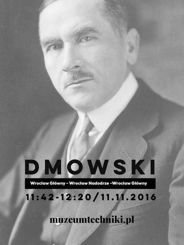 Roman Dmowski - patron jednego z pociągów