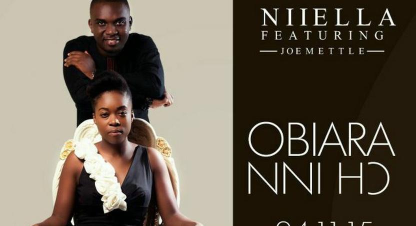 Niiella's new single featuring Joe Mettle artwork