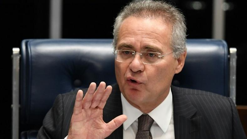 Brazil's Supreme Court suspended the Senate's powerful speaker, Renan Calheiros, on December 5, 2016, before he goes on trial for alleged corruption