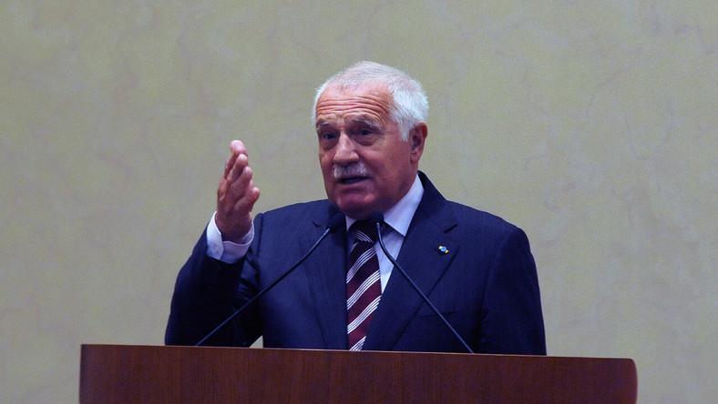 Vaclav Klaus wzywa Czechów do opuszczenia Unii Europejskiej
