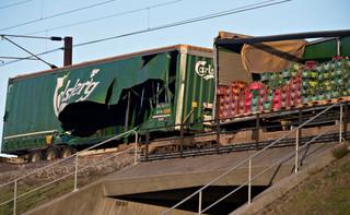 Dania: Sześć osób zginęło w katastrofie pociągu na moście nad Wielkim Bełtem