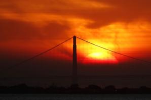 JEZIVI SJAJ OKOVAO GRAD San Francisko obavijen dimom smtonosnog požara izgleda kao GRAD DUHOVA (FOTO)
