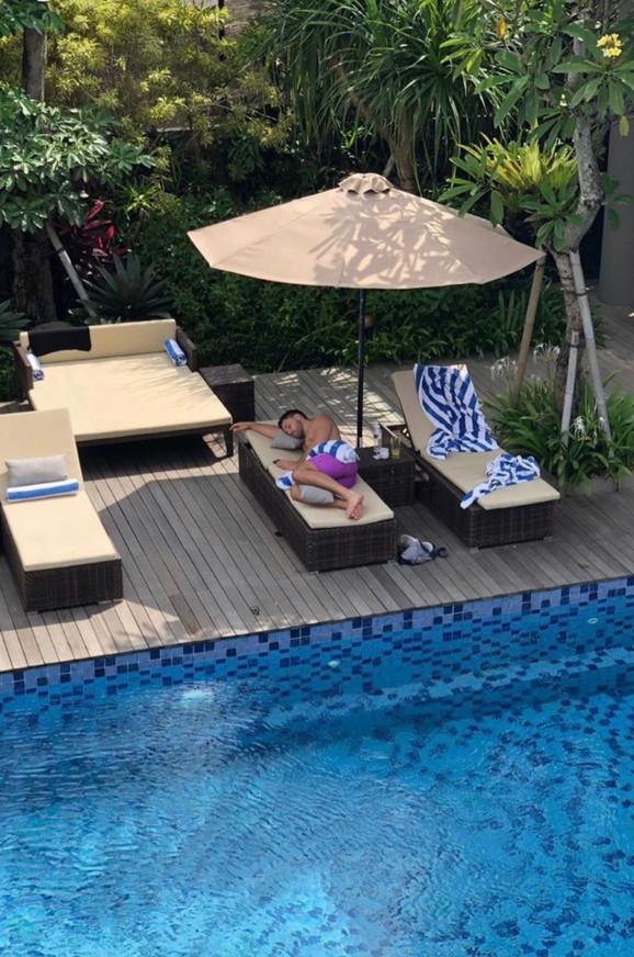 Lepa Brena: Porodični odmor na Baliju