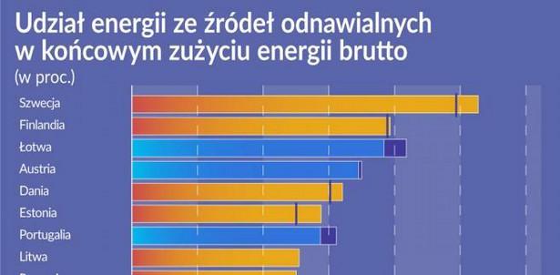 Energia - źrodła (graf. Obserwator Finansowy)