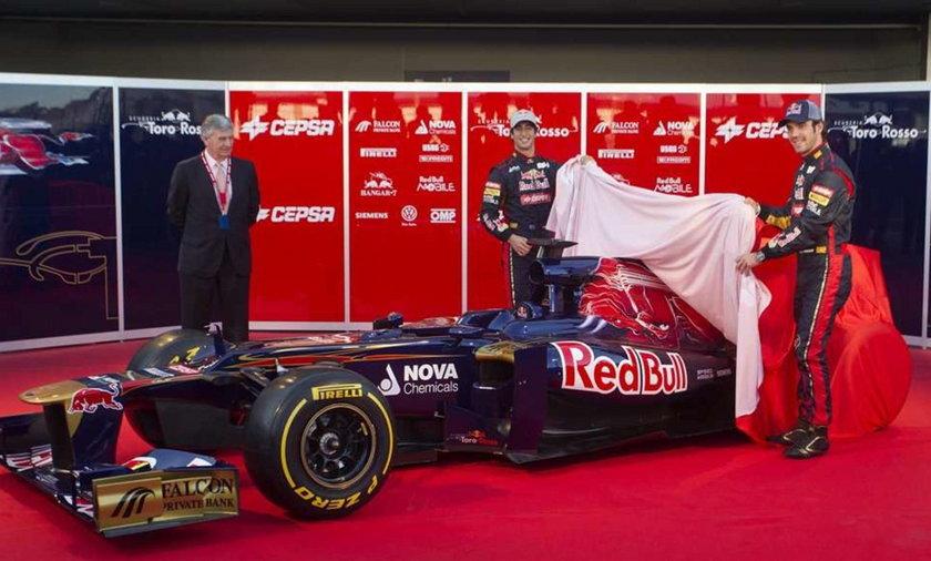 Sesja treningowa F1 w Jerez