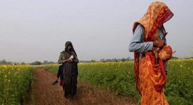 These Indian girls are to be raped for their brother's sins.