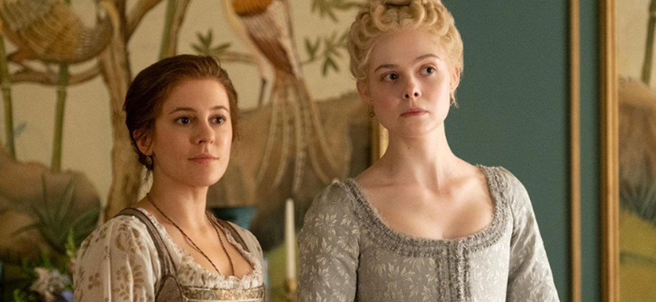 Elle Fanning i Phoebe Fox to duet idealny/Fot.HBO