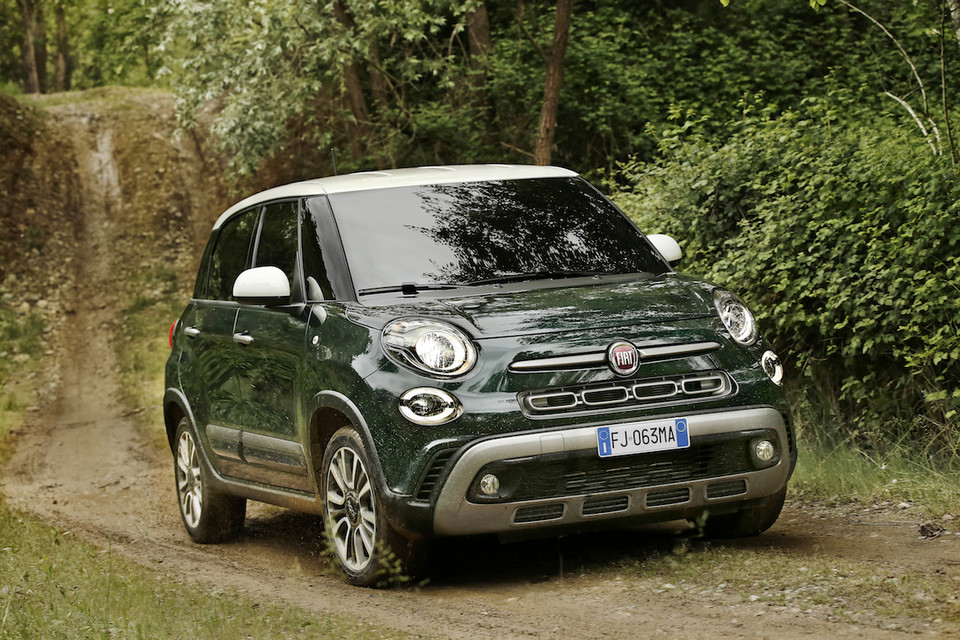 Fiat 500L Cross po liftingu