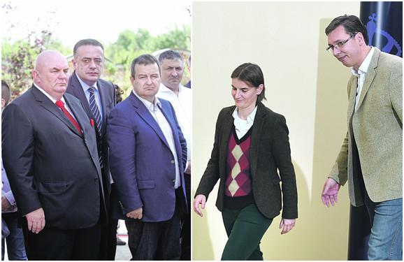 Marković, Dačić, Brnabić i Vučić