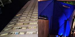 Tragedia w Warszawie. Nastolatek spadł z 18. piętra wprost na starszego mężczyznę