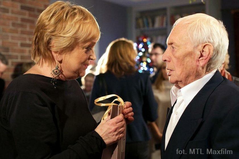 Witold Pyrkosz i Małgorzata Rożniatowska