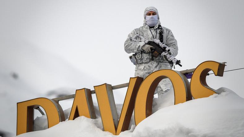 Szczyt w Davos pod dobrą ochroną