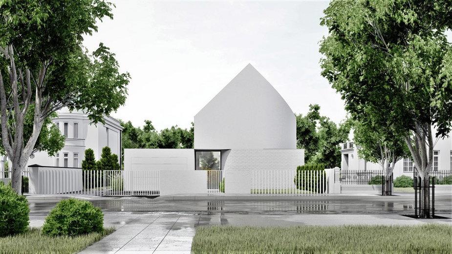 Biały dom w Warszawie
