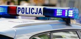 Radiowóz zderzył się z autem osobowym. Kierowca nie wytrzymał