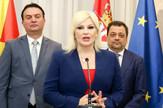 Zorana Mihajlović, Koča Anđušev, Makedonija