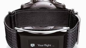 Montblanc - inteligentny pasek do klasycznego zegarka