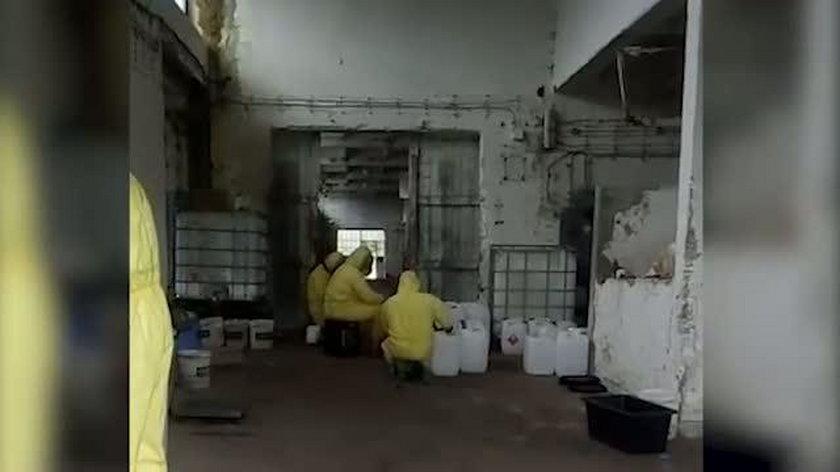 CBŚP zlikwidowało gigantyczną fabrykę dopalaczy!